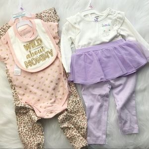 Baby girls outfits bundles  9 mo NWT